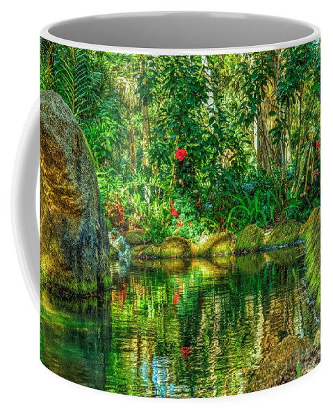 Reflection Coffee Mug featuring the photograph Reflecting On The Day by Tyson Kinnison