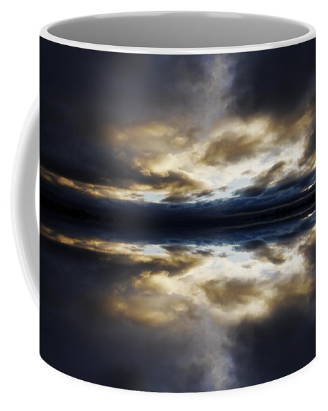 Blast Coffee Mug featuring the photograph Reflection 1 by Steve Ball