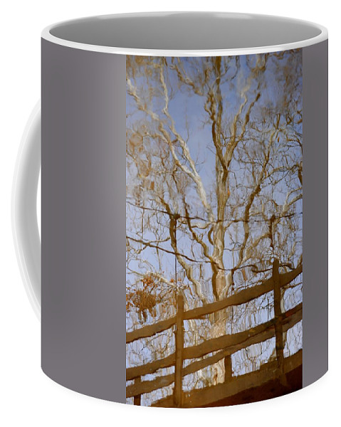 Reflection Coffee Mug featuring the photograph Reflection by Frozen in Time Fine Art Photography