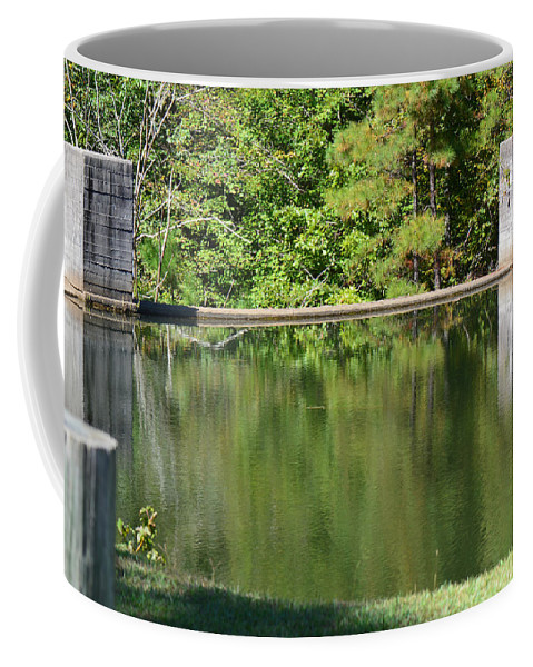 Landscapes Coffee Mug featuring the photograph Reflections by Barb Dalton