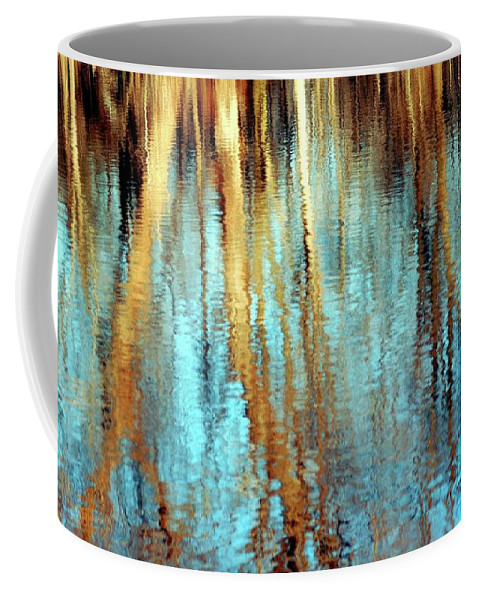 Water Coffee Mug featuring the photograph Reflections In Water by Kathleen Struckle