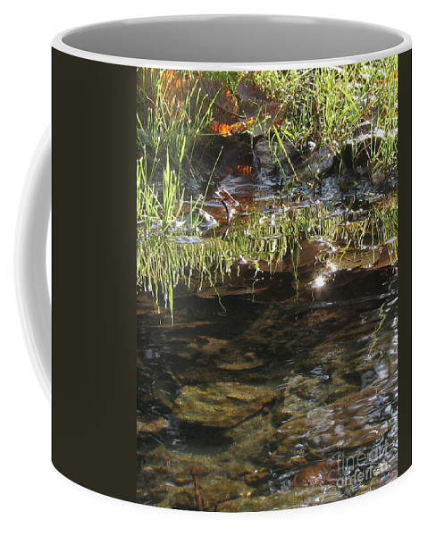 Nature Coffee Mug featuring the photograph Reflections by Leone Lund
