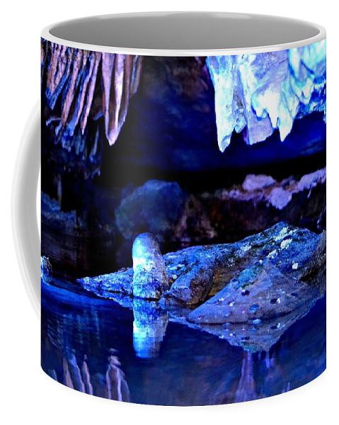 Reflections Coffee Mug featuring the photograph Reflective Cavern by Tara Potts