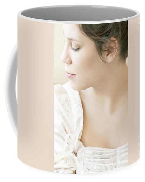 Woman Coffee Mug featuring the photograph Regency Beauty by Margie Hurwich