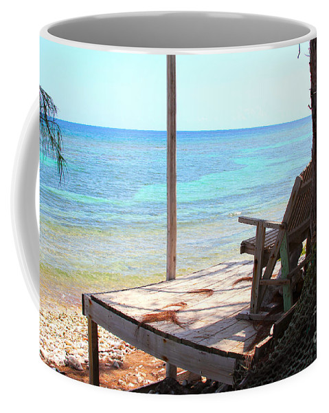 Porch Coffee Mug featuring the photograph Relax Porch by Carey Chen