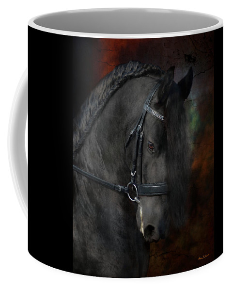 Horses Coffee Mug featuring the photograph Rembrandt by Fran J Scott