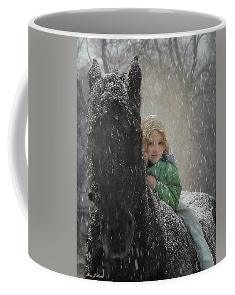 Friesian Coffee Mug featuring the photograph Remme And Rory by Fran J Scott