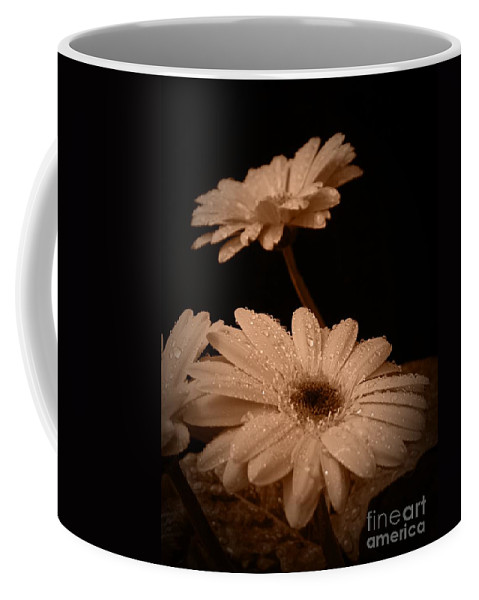 Renewal Sepia Coffee Mug featuring the photograph Renewal Sepia by Chalet Roome-Rigdon