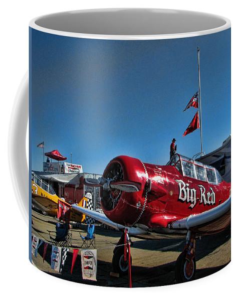 Reno Coffee Mug featuring the digital art Reno Races 12 by John Saunders