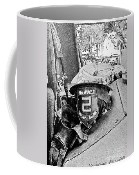 Fireman Coffee Mug featuring the photograph Rescue 2 by Tommy Anderson