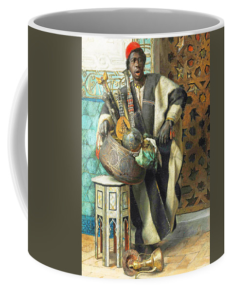 Orientalism Coffee Mug featuring the photograph Resting Time by Munir Alawi