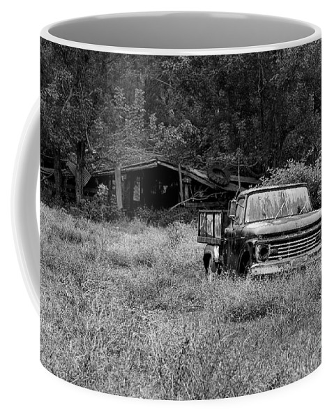 Landscape Coffee Mug featuring the photograph Retired by Scott Pellegrin