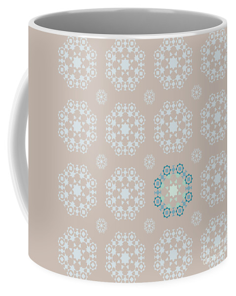 Antique Coffee Mug featuring the photograph Retro Wallpaper by Tim Hester