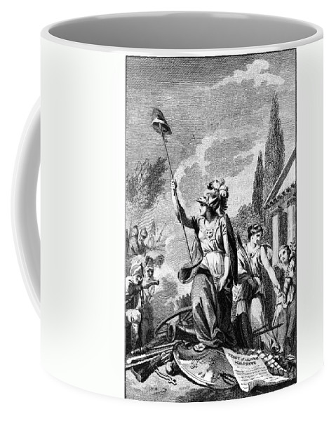 1780 Coffee Mug featuring the photograph Revolutionary War: France by Granger