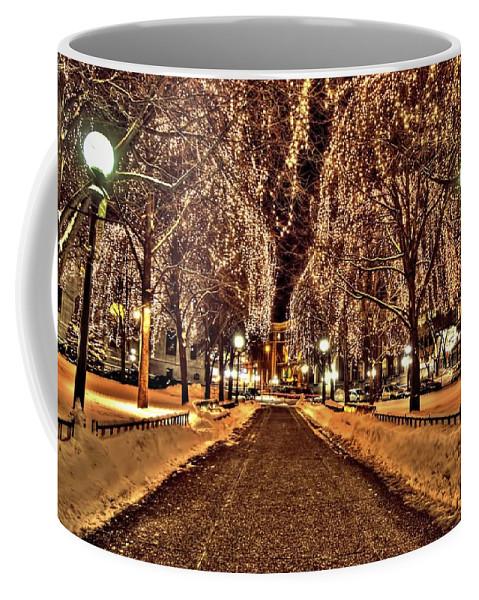 Rice Park Coffee Mug featuring the photograph Rice Park Saint Paul by Amanda Stadther