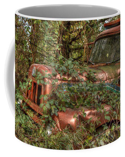 Abandoned Coffee Mug featuring the photograph Ride No More by Brigitte Mueller