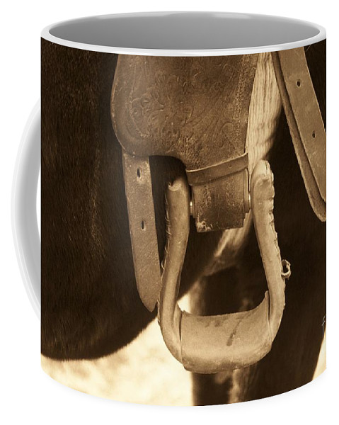 Horse Coffee Mug featuring the photograph Riding The Range by Brandi Maher