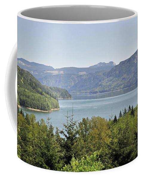 Riffe Lake Coffee Mug featuring the photograph Riffe Lake by Tikvah's Hope