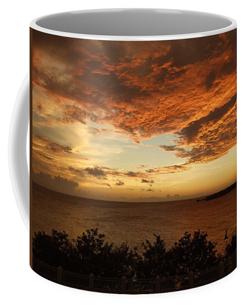 Coffee Mug featuring the photograph Ripples In The Sky by Katerina Naumenko