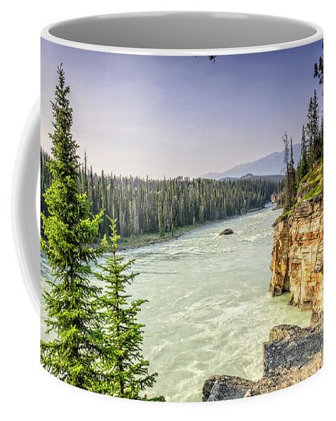 River Coffee Mug featuring the photograph River by Viktor Birkus