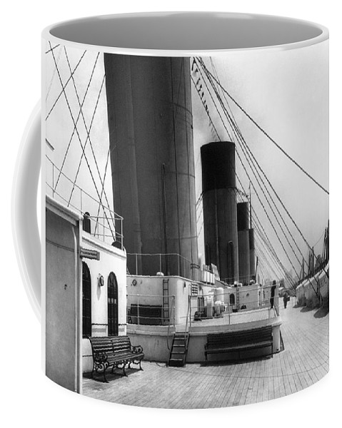 1911 Coffee Mug featuring the photograph Rms Olympic, C1911 by Granger