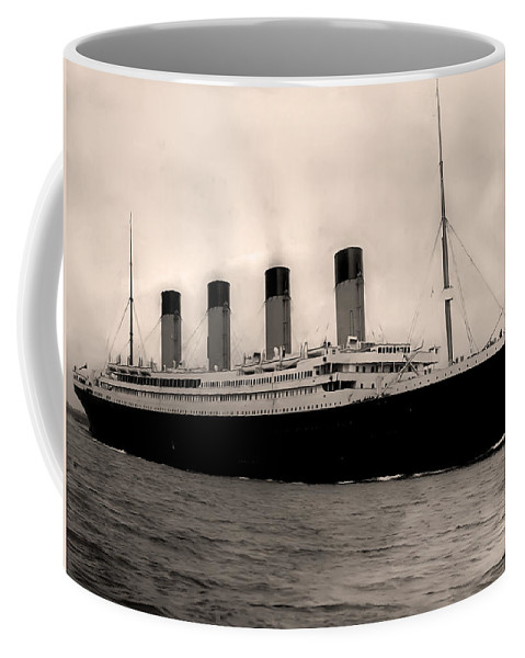 Rms Titanic Coffee Mug featuring the photograph Rms Titanic by Bill Cannon