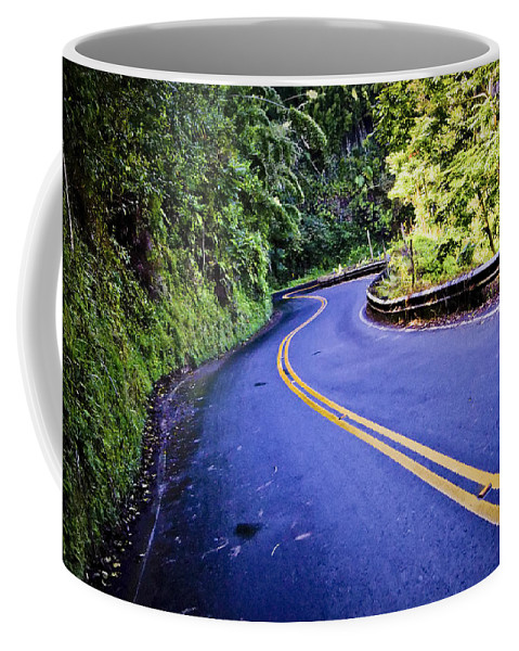 3scape Coffee Mug featuring the photograph Road To Hana by Adam Romanowicz