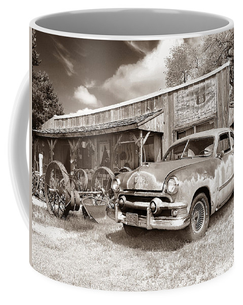 Antiques Coffee Mug featuring the photograph Roadside Antiques by John Anderson