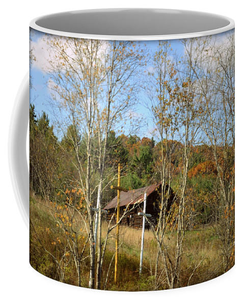 Wright Coffee Mug featuring the photograph Bernard Coffindaffer's Calling by Paulette B Wright
