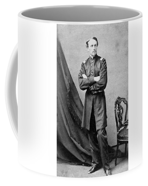 Robert Gould Shaw Coffee Mug featuring the photograph Robert Gould Shaw by War Is Hell Store