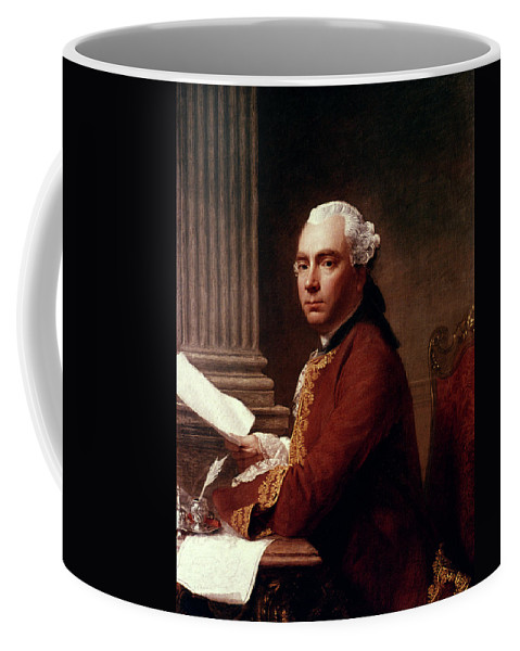 1755 Coffee Mug featuring the painting Robert Wood (c1717-1771) by Granger