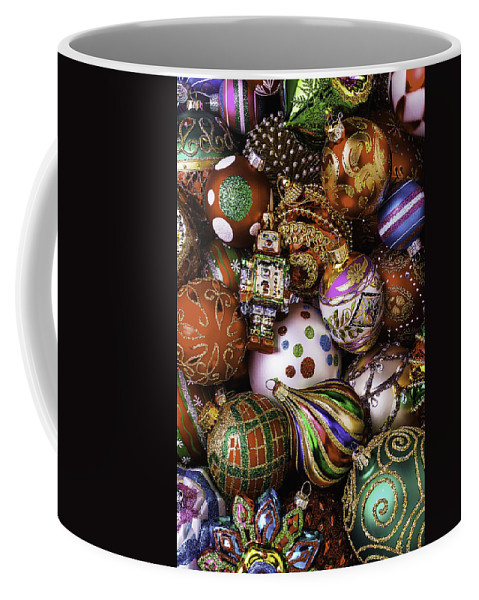 Christmas Coffee Mug featuring the photograph Robot Ornament by Garry Gay