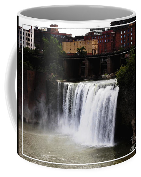 High Falls Coffee Mug featuring the photograph Rochester Ny High Falls by Rose Santuci-Sofranko