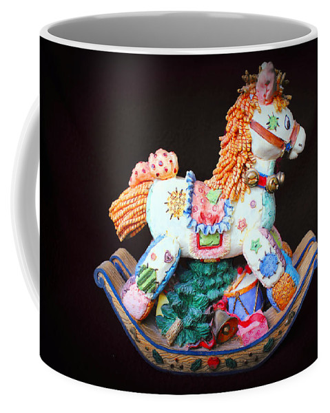 Rocking Horse Coffee Mug featuring the photograph Rocking Horse by Carlos Diaz