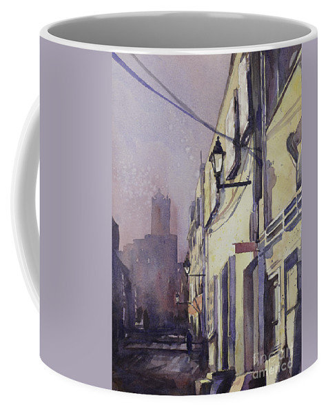 Painting Coffee Mug featuring the painting Rocking The Kasbah by Ryan Fox