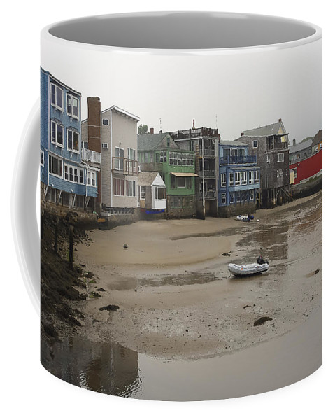 Rockport Coffee Mug featuring the photograph Rockport At Low Tide by David Stone