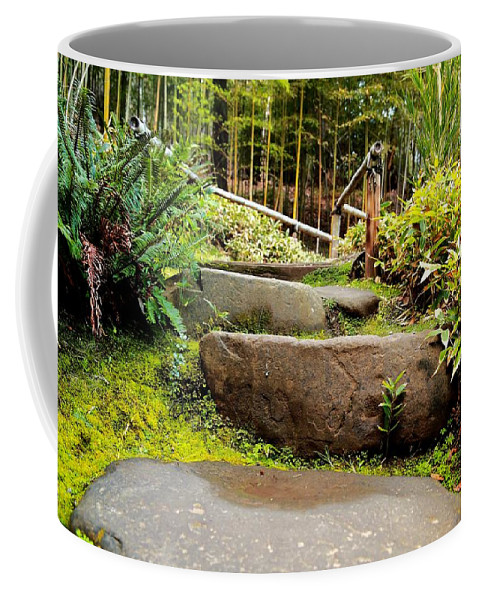 Rocky Coffee Mug featuring the photograph Rocky Path by Scott Hill