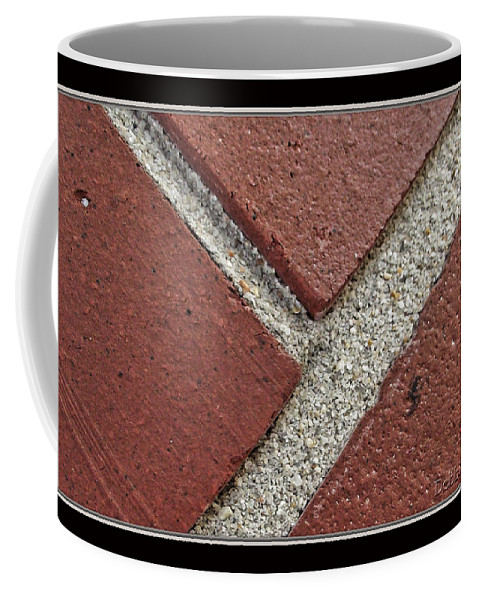 Arictural Coffee Mug featuring the photograph Rocky Road by Debbie Portwood