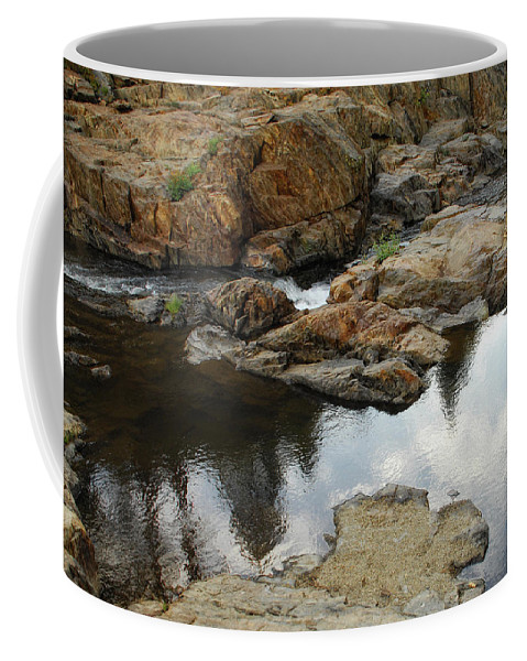Rock Coffee Mug featuring the photograph Rocky Road by Donna Blackhall