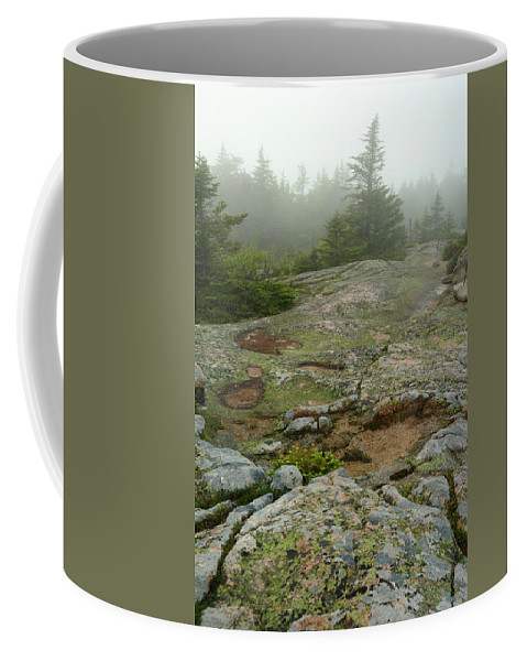 Day Coffee Mug featuring the photograph Rocky View From Near The Top by Darlyne A. Murawski