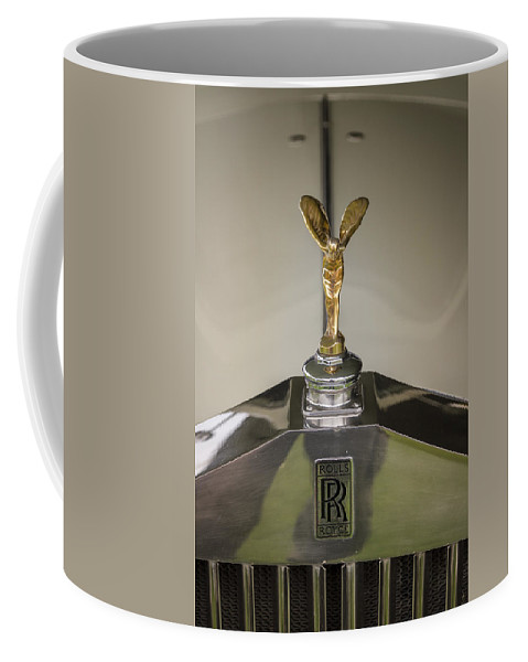 Glenmoor Coffee Mug featuring the photograph Rolls Royce by Jack R Perry