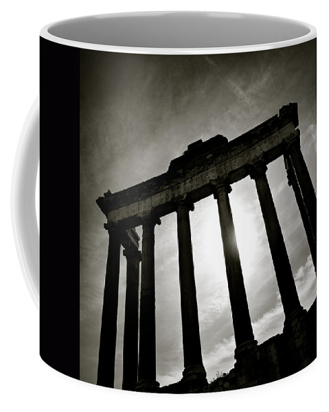 Roman Forum Coffee Mug featuring the photograph Roman Forum by Dave Bowman