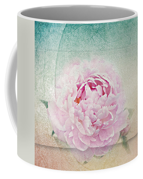 Peony Coffee Mug featuring the photograph Romantic Rose by Heike Hultsch