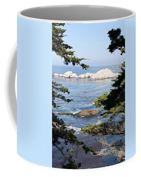 Coast Coffee Mug featuring the photograph Romantic View by Christiane Schulze Art And Photography