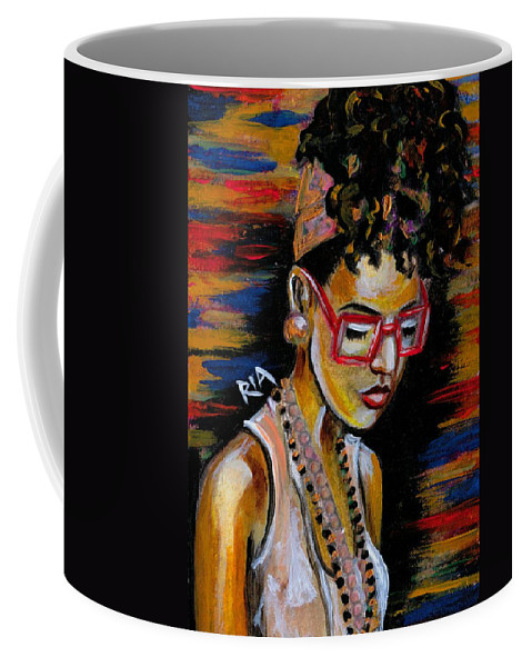 Beautiful Coffee Mug featuring the photograph Romy by Artist RiA