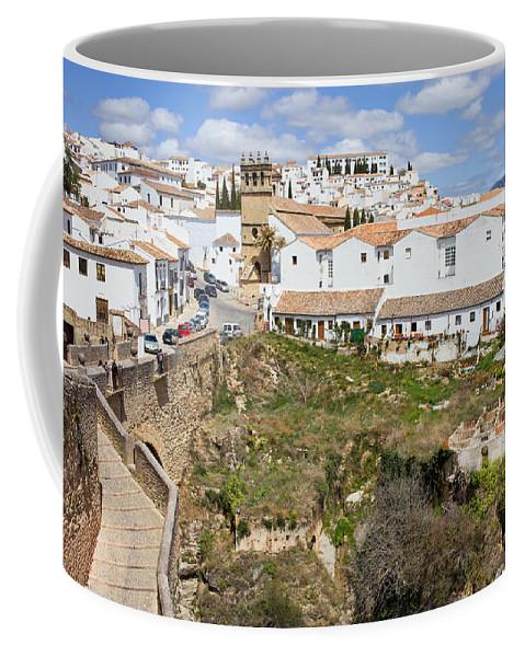 Ronda Coffee Mug featuring the photograph Ronda Old City In Spain by Artur Bogacki
