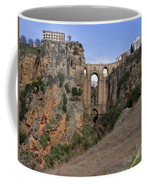 Ronda Spain Coffee Mug featuring the photograph Ronda Spain by Suzanne Oesterling