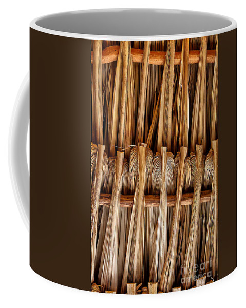 Palm Coffee Mug featuring the photograph Roof by Stefan H Unger