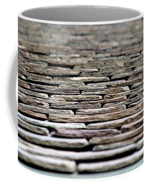 Stone Coffee Mug featuring the photograph Roof Top by Henrik Lehnerer