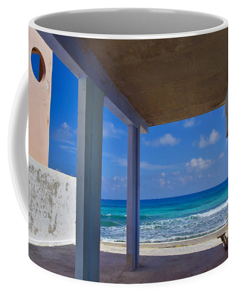 Room With A View Coffee Mug featuring the photograph Room With A View by Skip Hunt